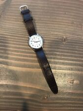 Timex T20041 Men's Easy Reader Brown Leather Watch Indiglo Day Date