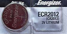 Energizer ECR 2012 CR 2012 Lithium 3V Battery Braned New Authorized Seller
