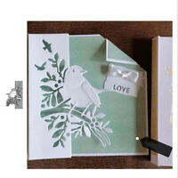Bird Lace Metal Cutting Dies Scrapbooking Embossing Cards Making Craft Stencil