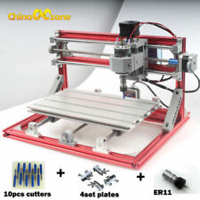 CNC 3018 & Laser Engraving Router Carving PCB Milling Cutting DIY CNC Machine US