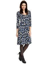 Marks and Spencer Viscose V-Neck Spotted Dresses for Women