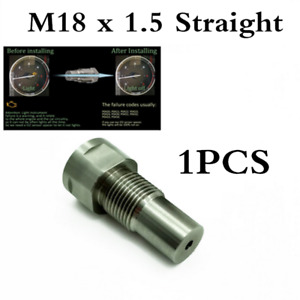 1PC O2 oxygen sensor extension extender adapter spacer M18X1.5 For Car CEL Fault