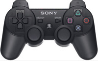 MANDO SONY PLAYSTATION 3 DUALSHOCK SIXAXIS  PS3 COLOR  NEGRO +cable de carga