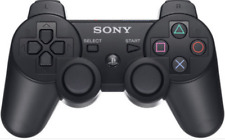 MANDO SONY PLAYSTATION 3 DUALSHOCK SIXAXIS  PS3 COLOR  NEGRO +cable de carga