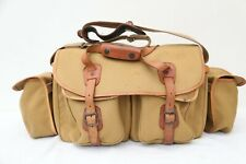 Large Billingham 550 Camera Bag With End Pockets & With Inserts 915A & 918 A