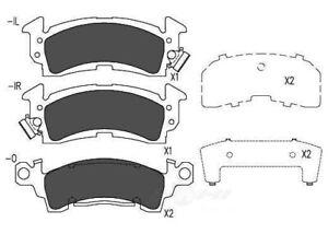 Disc Brake Pad Set-TSS Ceramic Pads Front Dash 4 Brake TD52CH