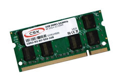 2GB Notebook Speicher DDR2 RAM 533 Mhz SO DIMM PC2-4200S 200 pin CSX