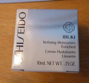 Shiseido Ibuki Refining Moisturizer Enriched  Creme Hadratante 10ml