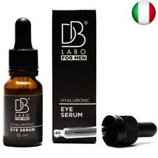 DBLabo Siero di Acido Ialuronico per Contorno Occhi Uomo - Made In Italy