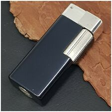 Briquet essence EDALCO Breveté black Petrol Lighter-打火机-NOS/NEVER USED-RARE-el1