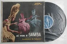 Acadêmicos Do Salgueiro Ai Vem O Samba Record Rio de Janeiro Brazilian Music LP