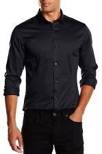 Camicia Uomo Premium by Jack&jones 12097662 Parma Autunno/inverno Black S