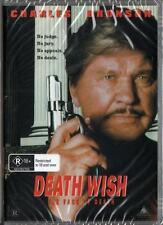 DEATH WISH 5 THE FACE OF DEATH - CHARLES BRONSON - NEW DVD - FREE LOCAL POST