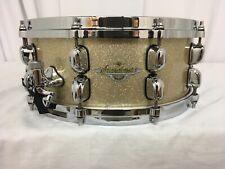 "Tama Starclassic Maple 14"" Dia. X 5.5"" Deep Snare Drum/Champagne Sparkle/NEW"