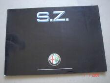 ALFA ROMEO  S.Z.   Prestige catalogue / Luxusprospekt  1991.