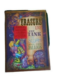 Erasure live : The Tank, The Swan and The Balloon DVD 2 disc.