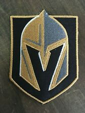 """Vegas Golden Knights Logo NHL Hockey Embroidered Iron On Patch 3.25""""x2.25"""" Badge"""