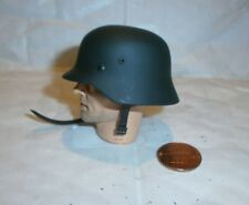 Alert Line German metal helmet with camo cover ( 2 ) 1/6th scale toy accessory