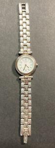 Ecclisse Model 3240 Ladies 925 Sterling Silver Analog Wrist Watch 53.3 Grams