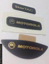 Labels étiquettes MOTOROLA StarTAC 130 85 80 75 70 rainbow no v50 v51 3310 t28