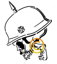 German War Skull