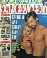 MARY BETH EVANS & STEPHEN NICHOLS  December 9, 1997 SOAP OPERA WEEKLY Magazine