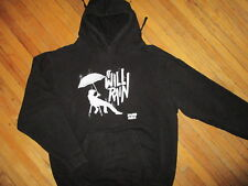BRUNO MARS IT WILL RAIN HOODIE Sweatshirt Pullover Umbrella Black Medium