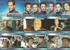 Star Trek Enterprise Season 2 Full 81 Card Base Set of Trading Cards - New
