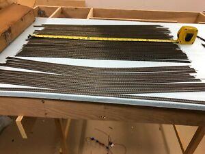 N Scale Track Atlas #2500 flex track: 10 Brown Ties; 26 Black ties
