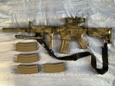 Rare Airsoft - M4 A1 FROM «LONE SURVIVOR» - KING ARMS - AEG TYPE + 5 MAGAZINES