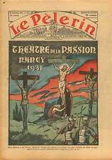 Passion du Christ Jésus sur la Croix de Moritz  France 1931 ILLUSTRATION