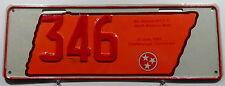 Nummernschild Australien N.P.C.C Treffensschild Tennessee 1994.10263.