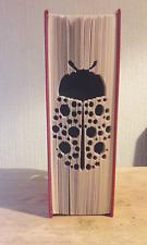 Bubble Ladybird Cut & Fold Book Folding Pattern (PRINTED PATTERN ONLY)