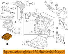 HONDA OEM 11-15 CR-Z Engine-Air Cleaner Filter Element 17220RTW000