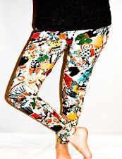 Ladies/Womens Cartoon pattern leggings