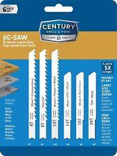 Century Jig Saw Blade Kit - 6 blades