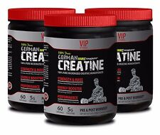 Muscle mass gainer GERMAN CREATINE  STRENGTH & MASS PURE 300g Cares depression 3