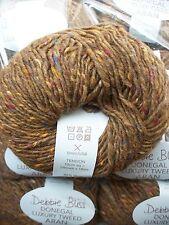 Debbie Bliss Luxury Tweed Aran shade 35 Bronze