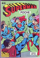 ! SUPERMAN POCHE N°24 en BON ETAT / TRES BON ETAT !
