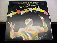 Sinfoniuhljomsveit Islands-I Takt Vid Timann-LP-Vinyl-SLP22-VG++