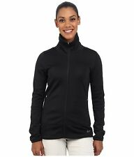 NIKE GOLF THERMAL FULL ZIP JACKET BLACK 685284-010 WOMENS SIZE SMALL