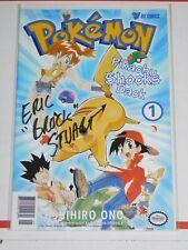 "Eric Stuart ""Brock"" Signed pokemon comic AUTO Autographed"
