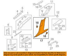FORD OEM 17-18 Fusion Interior-Lower Center Pillar Trim Left DS7Z5424347AE