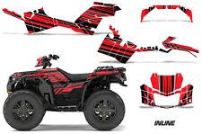 AMR Racing Polaris Sportsman 850 Graphics Kit Wrap ATV Sticker Decals 2017 INLIN