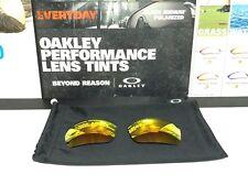 Oakley Triggerman Fire Iridium lens Set - Brand New w/ Oakley Microfiber Bag