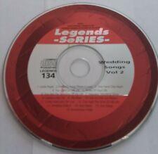 Legends Series Karaoke Cdg - Wedding Songs Vol 2 Disc 134