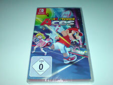 Nintendo Switch Spiel Mario Tennis Aces  Neu ungeöffnet versiegelt