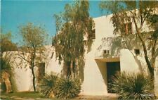 1950s Casa Blanca Inn Entrance Scottsdale Arizona Petley Studios postcard 4277