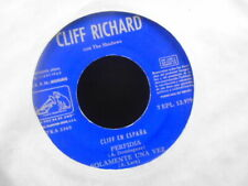 "CLIFF RICHARD SPANISH E.P NO PIC SLEEVE, TITLES IN SCANS  "" EX-  COND."
