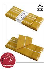 KIMONO YUKATA OBI Ceinture Japonais KAKU Traditional Belt NEW NEUF GOLD OR